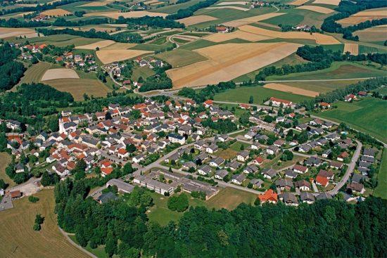 Gasthof Autzinger Riedau Luftaufnahme @Copyright Amido